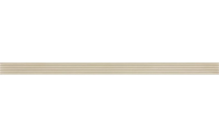 RAKO TEXTILE listela 40x2,2cm béžová WLAMG002