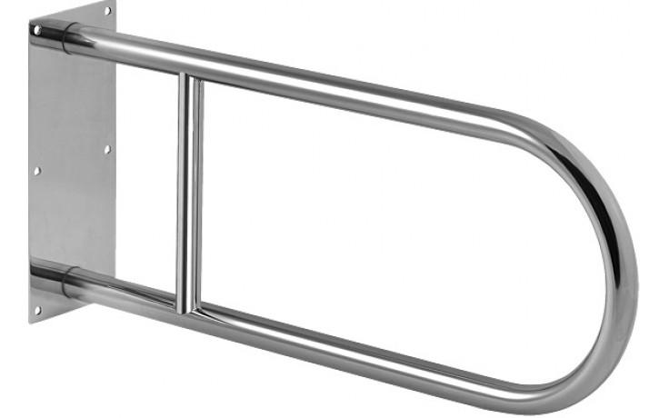 SANELA SLZM03X madlo 550mm, pevné, nerez mat