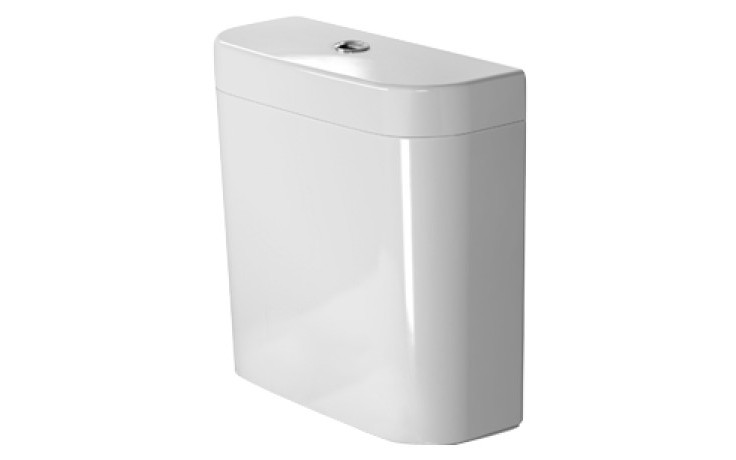 DURAVIT HAPPY D.2 splachovací nádrž s Dual-Flush, bílá/chrom 0934100085