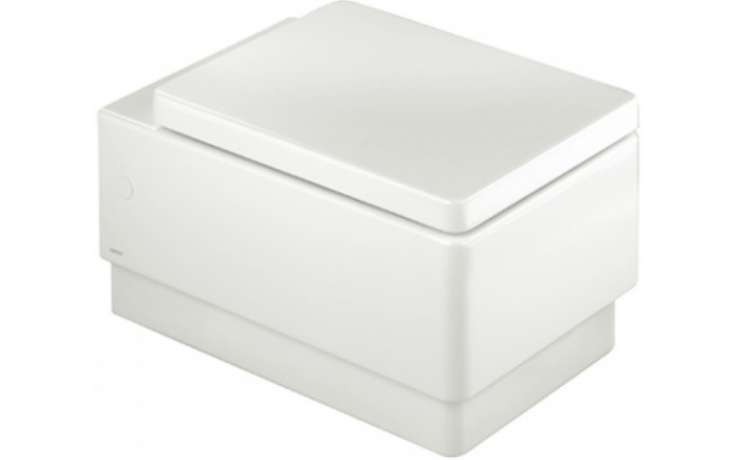 ESPRIT WC 370x560x350mm závěsné, odpad vodorovný, bílá
