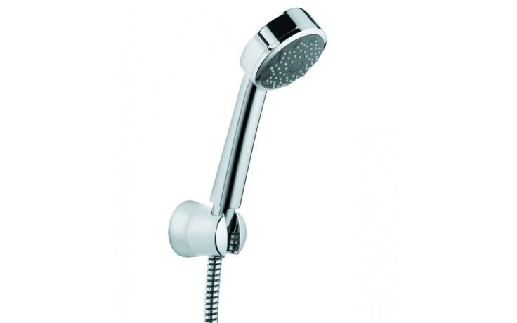 Vanová, sprchová souprava, držák sprchy, ruční sprcha Zenta 1S, hadice LogoFlex 1250 mm, s kónickými matkami,