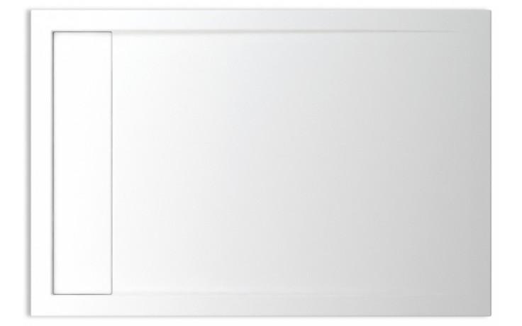TEIKO HERCULES 120X90 sprchová vanička 120x90x3,5cm, obdélník, akrylát, bílá