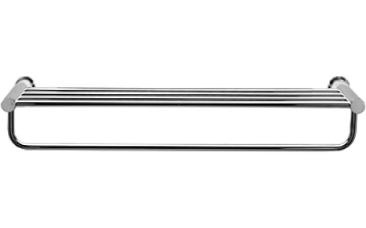 Doplněk polička Duravit D-Code 63x22 cm chrom