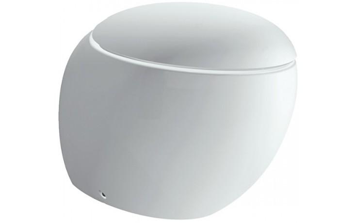LAUFEN IL BAGNO ALESSI ONE stojící klozet 390x585mm hluboké splachování, bílá LCC 8.2197.1.400.000.1