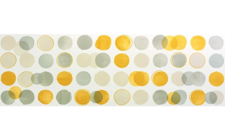 MARAZZI COLORUP dekor, 32,5x97,7cm, bianco/grigio/nero/giallo, MJUL