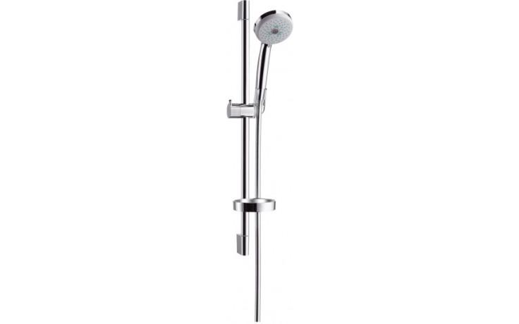 HANSGROHE sada ruční sprcha Croma 100 Mutli/nástěnná tyč Unica'C chrom 27775000