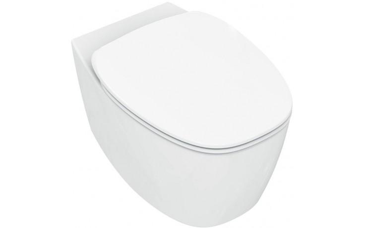 IDEAL STANDARD DEA závěsný klozet 365x550mm vodorovný odpad bílá mat T329083