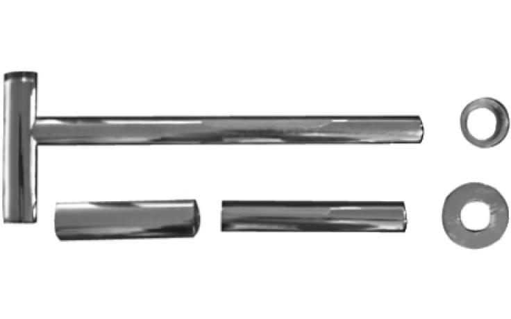 DURAVIT designový sifon, chrom 0050361000
