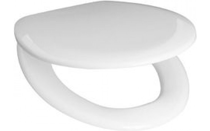 Sedátko WC Jika plastové termoplast s poklopem  bílá