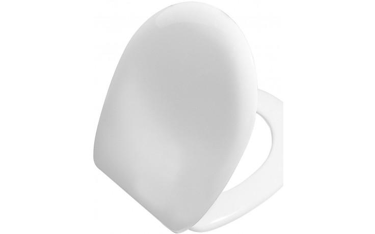 Sedátko WC Vitra duraplastové s kov. panty Aria  bílá
