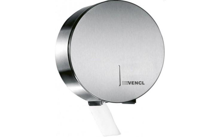 VENCL MEDIJUMBO 25 CS zásobník na toaletní papír 125xØ250mm, nerez