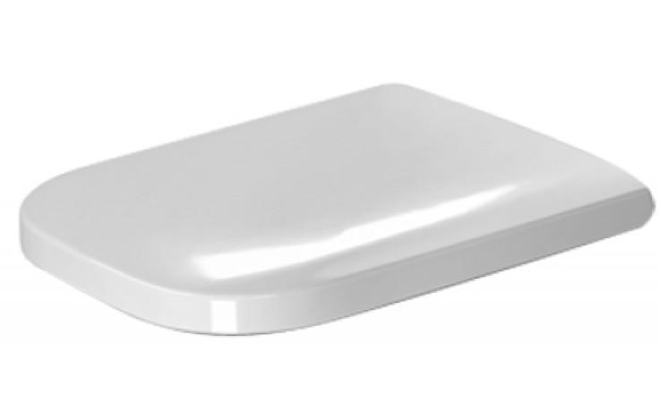 Sedátko WC Duravit duraplastové s kov. panty Happy D.2  bílá