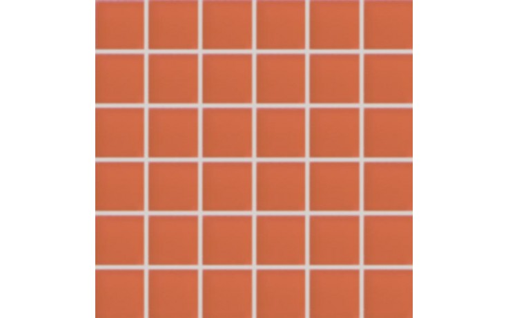 Obklad Rako Sandstone Plus Lappato mozaika 29,5x29,5cm oranžová