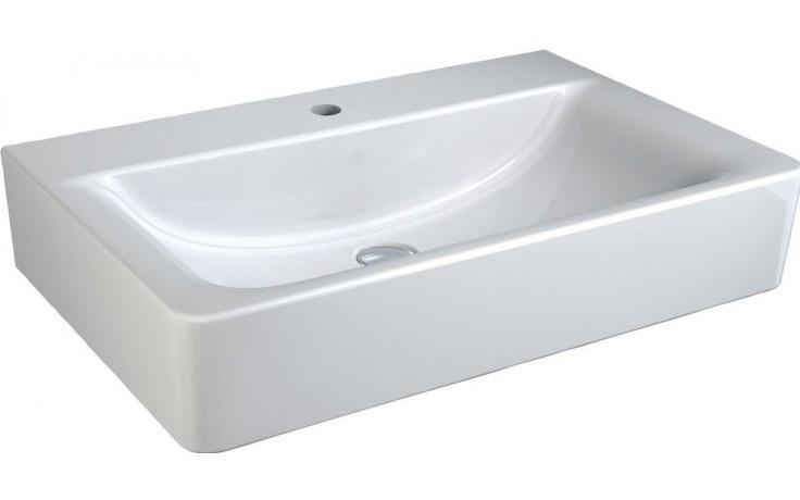Umyvadlo klasické Ideal Standard s otvorem Connect Cube bez přepadu 65x46 cm bílá