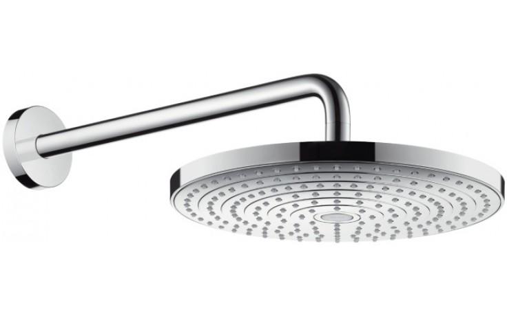HANSGROHE RAINDANCE SELECT S 200 2JET horní sprcha se sprchovým ramenem 390mm bílá/chrom 27378400