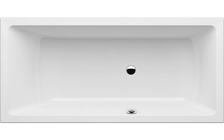 GKI MEMO klasická vana 1700x800mm s přepadem vpravo, akrylátová, bílá