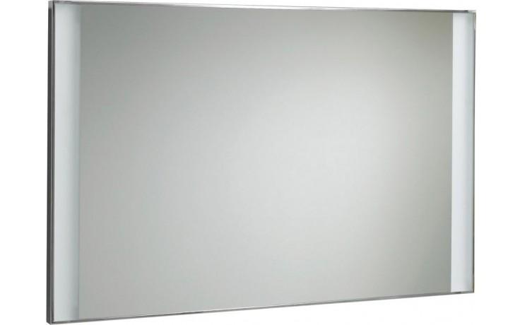 DOPRODEJ KERAMAG SILK zrcadlo 120x62cm s osvětlením, chrom