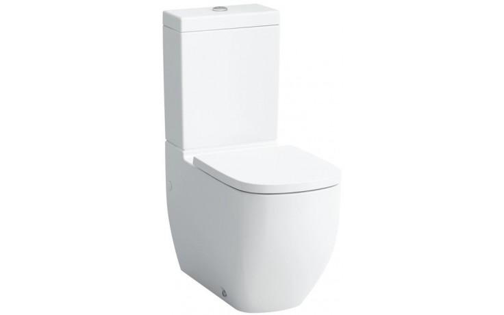WC kombinované Laufen odpad vario Palomba mísa bez nádržky  bílá