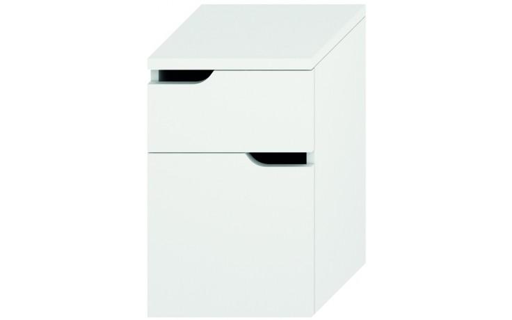 Nábytek skříňka Jika Mio new 36 cm bílá-bílá