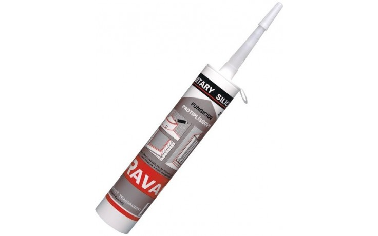 Vanička příslušenství Ravak - SILIKON 310ml bezb. 310 ml bezbarvý