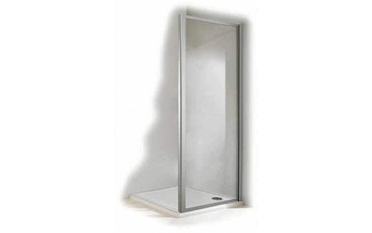 Zástěna sprchová boční - plast Concept 100 1000x1900mm stříbrná/plast matný