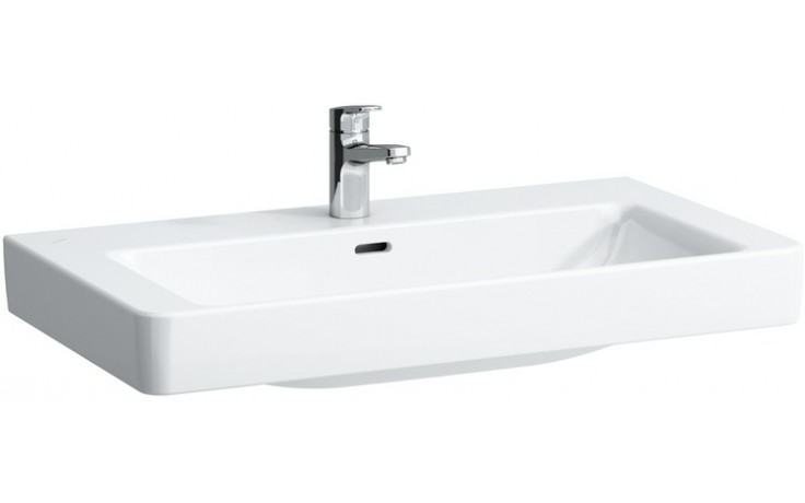 Umyvadlo nábytkové Laufen s otvorem Pro S 1396.5 400 104 85 cm bílá+LCC