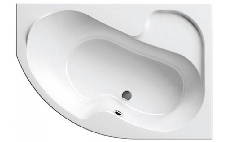 RAVAK ROSA I 140P asymetrická vana 1400x1050mm akrylátová, pravá, bílá