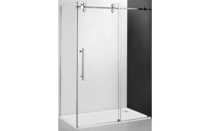 ROLTECHNIK KINEDOOR LINE KIB/900 boční stěna 900x2000mm, bezrámová, brillant/transparent