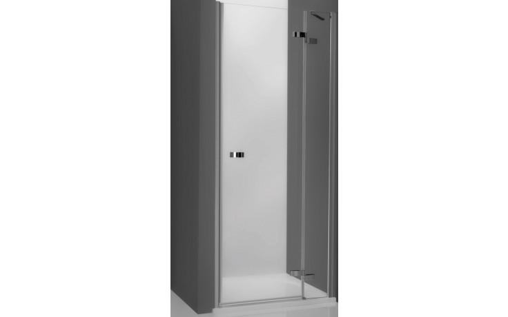 ROLTECHNIK ELEGANT LINE GDNP1/800 sprchové dveře 800x2000mm pravé jednokřídlé pro instalaci do niky, bezrámové, brillant/transparent