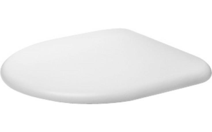 Sedátko WC Duravit duraplastové s kov. panty Architec  bílé