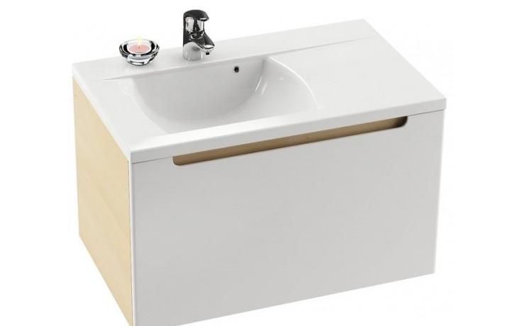 Nábytek skříňka pod umyvadlo Ravak SD Classic 800 R 80x47x49cm bříza/bílá