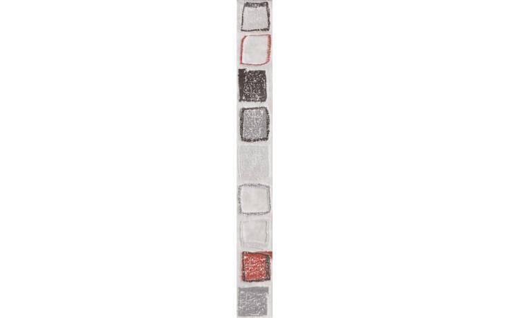 RAKO CONCEPT MONOPOLI listela 4,5x40cm světle šedá WLAMH012