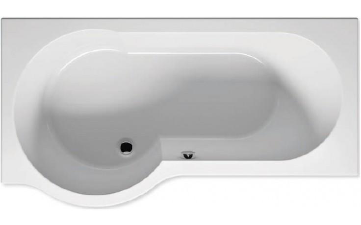 RIHO DORADO BA80 vana 170x90x47cm, asymetrická, pravá, akrylátová, bílá