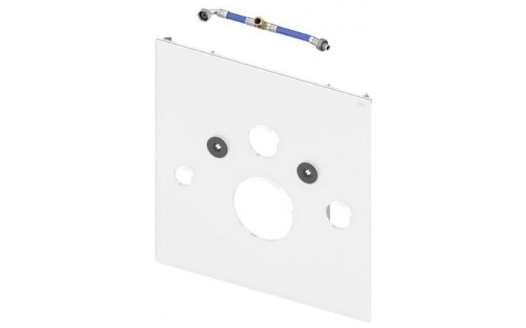 TECE LUX skleněná deska 430x16x446mm dolní, pro sprchovací toalety TOTO a Geberit, sklo/bílá