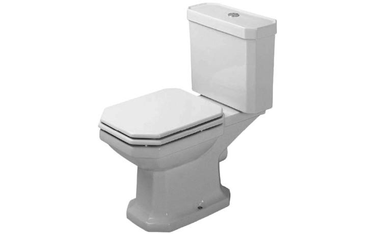 WC mísa Duravit odpad vario 1930 s kombinační splach. vodorovný odpad 35,5,x57 cm bílá