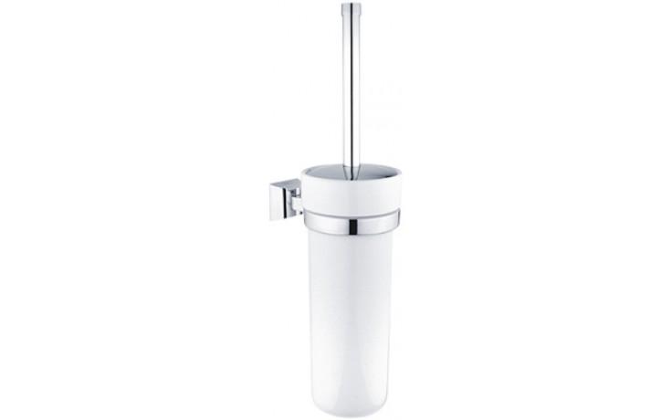 NIMCO PALLAS ATHÉNA Toaletní WC kartáč 390x144x96mm bílá/chrom PA 12094K-26