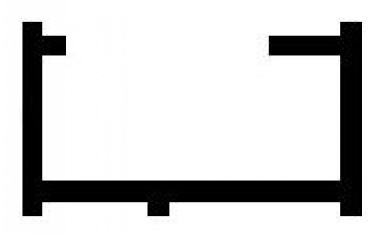 Příslušenství ke sprchovým koutům Huppe - rozšiřovací profil 15x2000 mm stříbrná lesklá