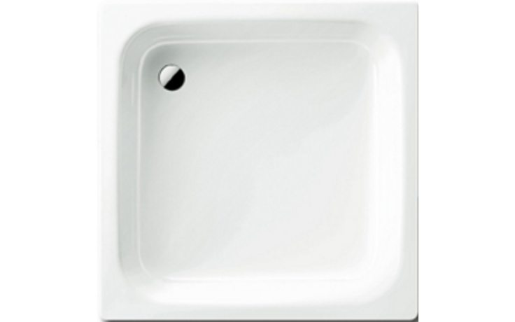 KALDEWEI SANIDUSCH 551 sprchová vanička 800x900x140mm, ocelová, obdélníková, bílá Antislip