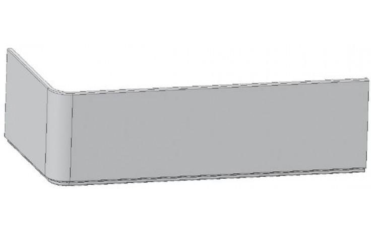 RAVAK 10 160P panel čelní, pravý, snowwhite