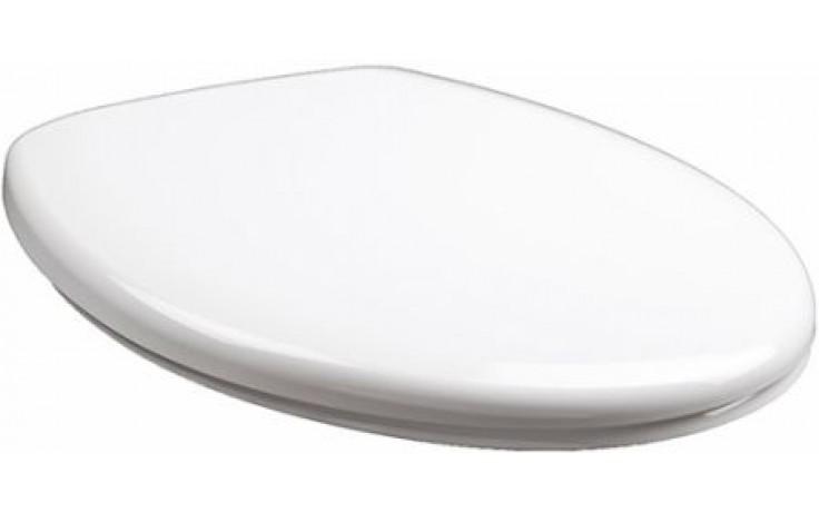 KOLO REKORD OPTIMA klozetové sedátko tvrdé 37,8x43,2cm, duroplast, s automatickým pozvolným sklápěním, Click2Clean, bílá K90116000