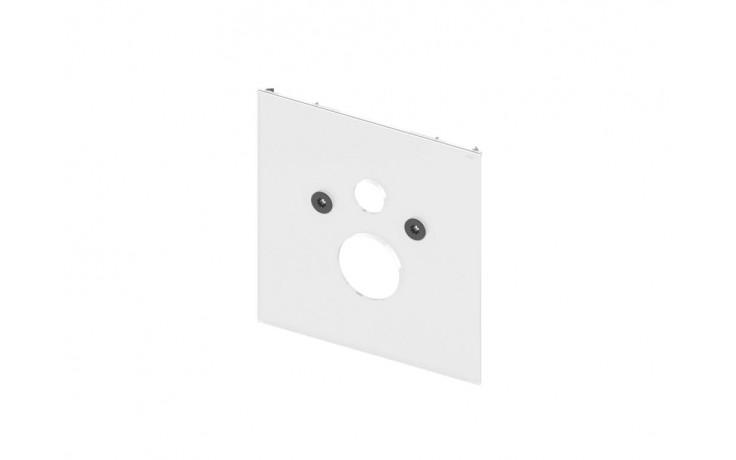 Příslušenství k předstěnovým syst. TECE - TECElux 9 650 100 skleněná deska  bílé sklo