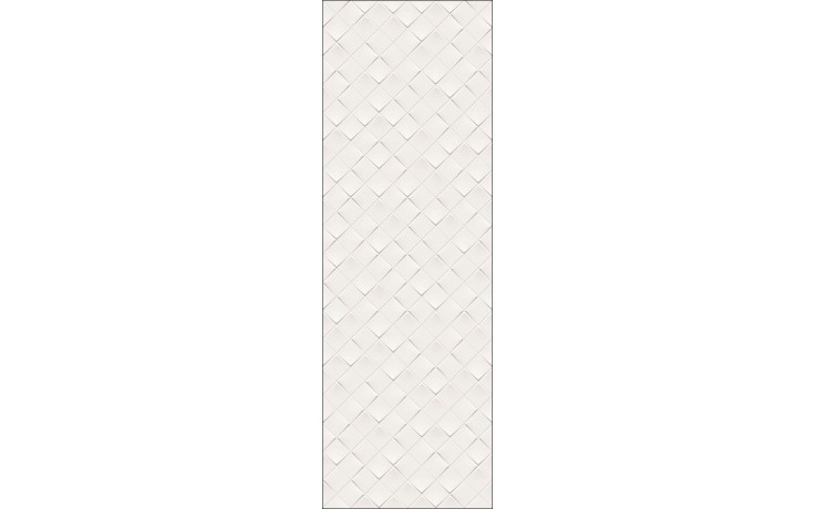 VILLEROY & BOCH MONOCHROME MAGIC dekor 40x120cm, velkoformátový, white