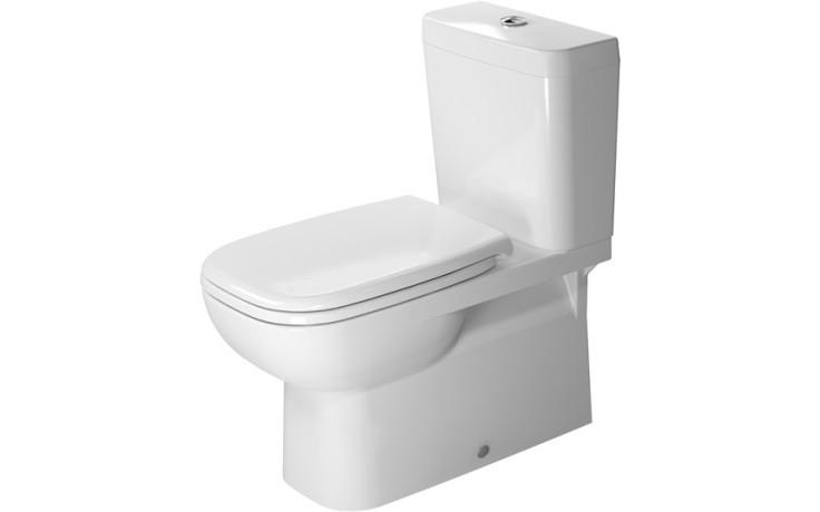 DURAVIT D-CODE stojící klozet 360x695mm kombinační, bílá 21420900002