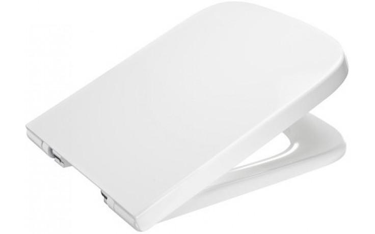 Sedátko WC Roca duraplastové Dama-N s poklopem-Slowclose  bílá