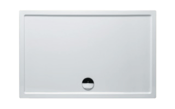 Vanička plastová Riho(JVP) obdélník ZÜRICH 256 DA6400500000000 DA 64 140x90x4,5cm bílá