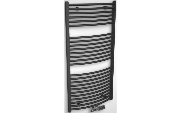 CONCEPT 200 TUBE EXTRA radiátor koupelnový 903W designový, středové připojení, antracit