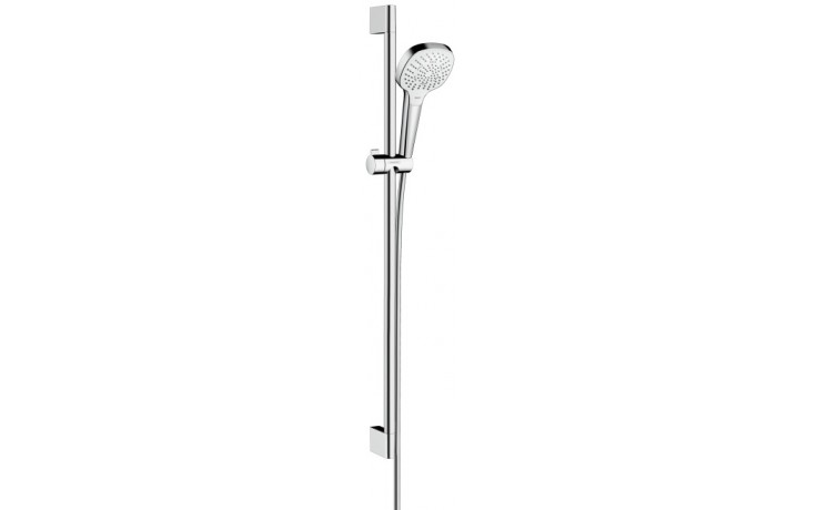 Sprcha sprchový set Hansgrohe Croma Select E Multi l=900 mm bílá-chrom