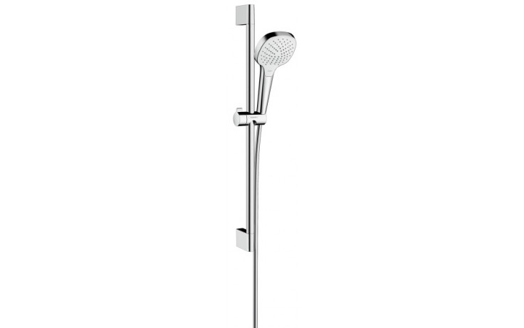 HANSGROHE sada ruční sprcha Croma Select E Vario/nástěnná tyč Unica'Croma bílá/chrom 26582400