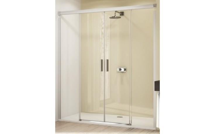 Zástěna sprchová dveře Huppe sklo Design elegance 1600x1900mm stříbrná lesklá/čiré AP