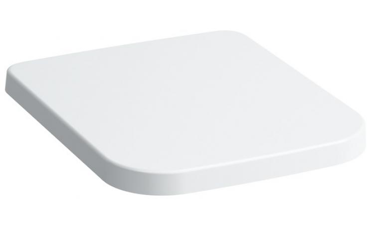LAUFEN PRO sedátko s poklopem 443x367x35mm, odnímatelné, zpomalovací sklápěcí systém, bílá 8.9196.1.000.000.1